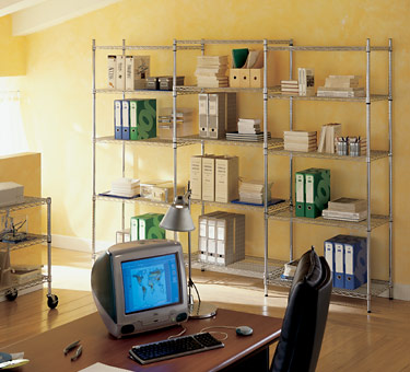 Vendita complementi per ufficio librerie modulari in filo for Complementi per ufficio